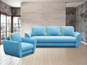 Bolivia kanapé + Fotel (feláras)