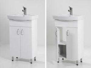Light 50 mosdós fürdőszoba szekrény (LAM50)