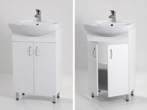 Light 55 mosdós fürdőszoba szekrény (LAM55)