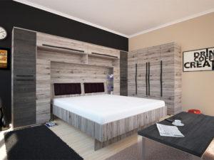 Nest áthidalós garnitúra (ágy nélkül)