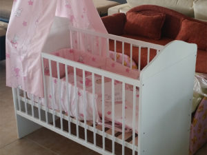 120x60cm-es ágy (fehér)