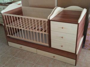 120x70cm ringathatós kombi ágy